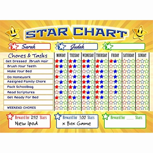 Multiple Kids Chore Chart New Bigtime Signs Improve Child Behavior & Responsibility with