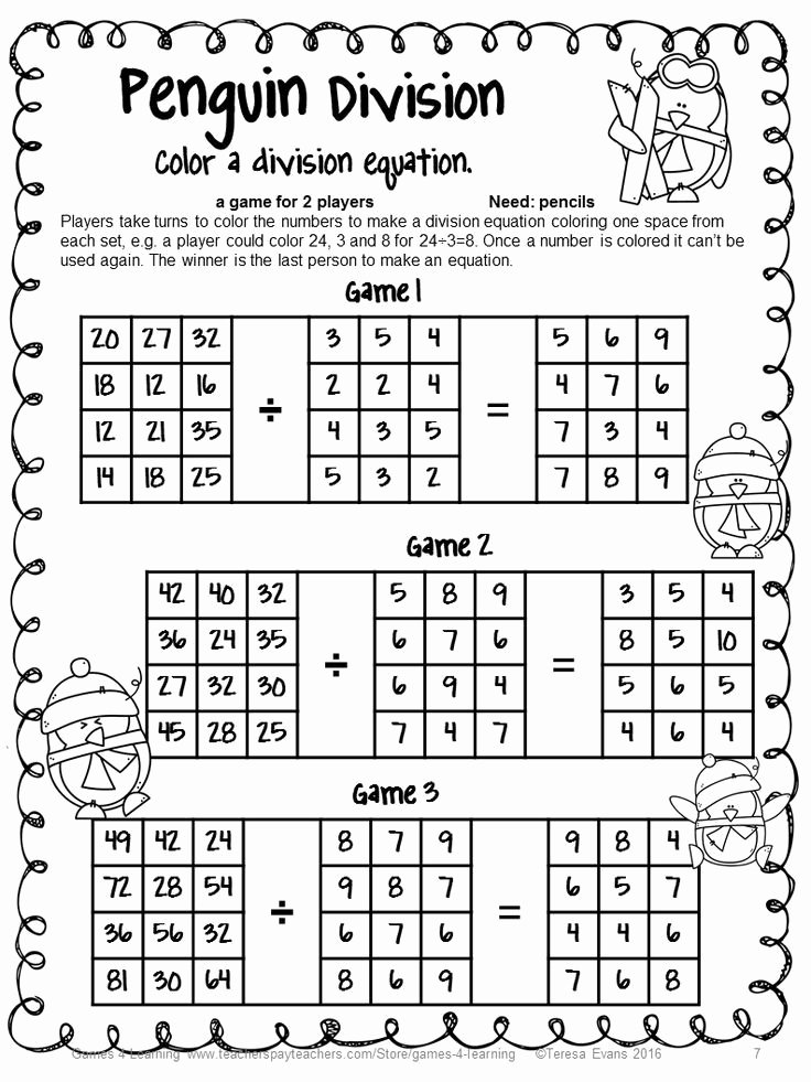 Multiplication and Division Worksheets Beautiful Best 25 Division Games Ideas On Pinterest