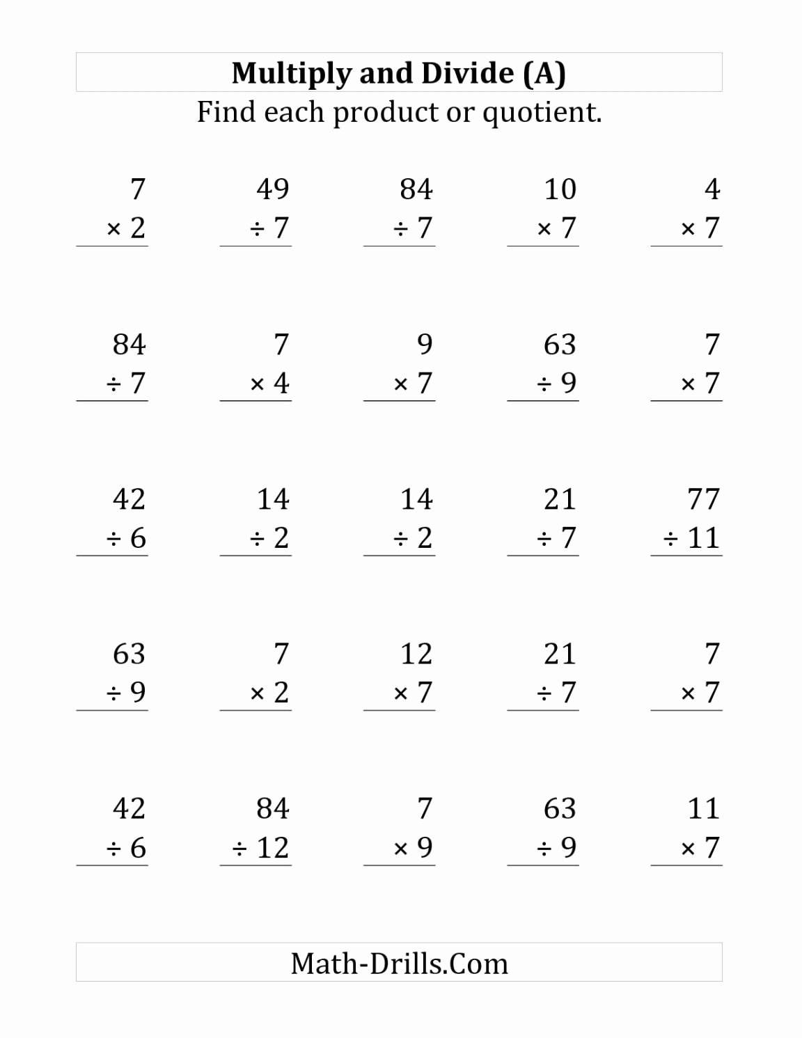 Multiplication and Division Worksheets Fresh whole Numbers and Decimals Worksheets Worksheet Mogenk