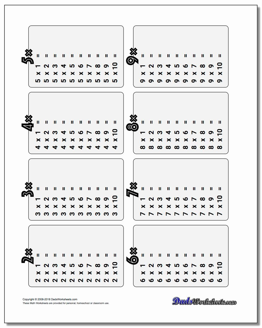 Multiplication Table Worksheet Best Of Multiplication Table