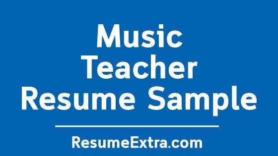 Music Teacher Resume Sample Elegant Ideal Music Teacher Resume Sample Resumeextra