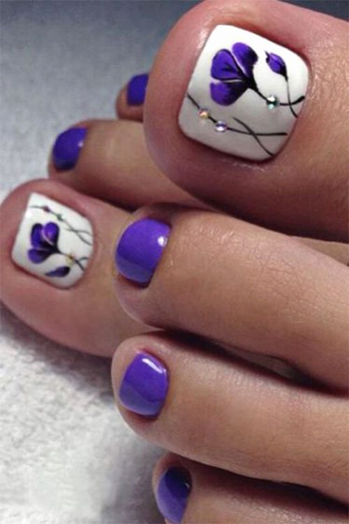 Nail Art Designs for toes Awesome Summer toe Nails Art Designs & Ideas 2018
