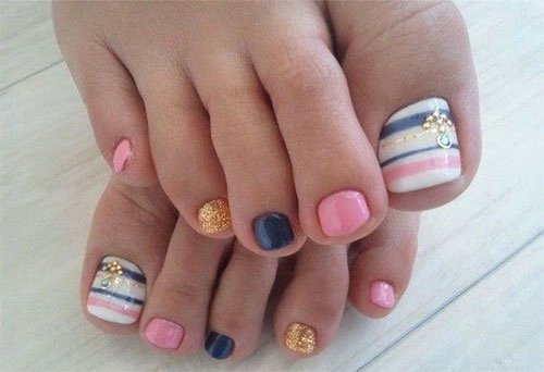 Nail Art Designs for toes Beautiful 18 Summer toe Nail Art Designs Ideas Trends & Stickers