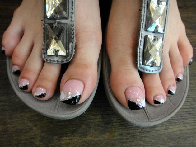 Nail Art Designs for toes Beautiful Pretty Feet Nail Art Gallery