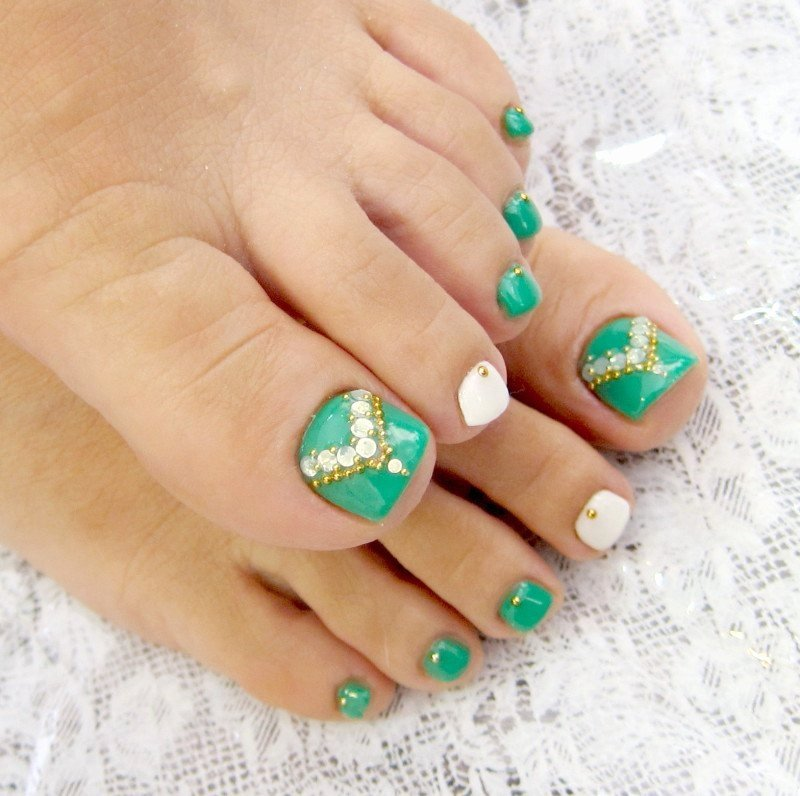 Nail Art Designs for toes Best Of Simple Nail Art Designs for Beautiful Feet – Nailkart