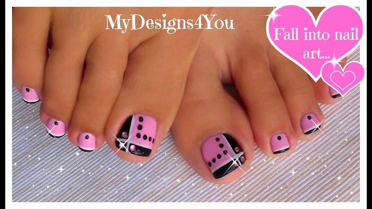 Nail Art Designs for toes Elegant toenail Art Design