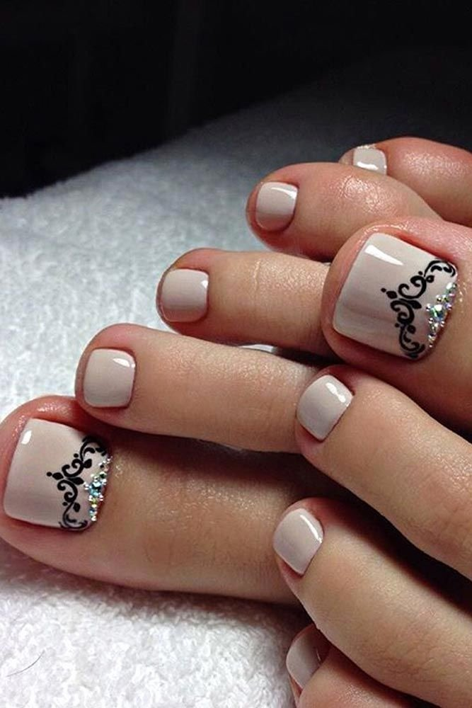 Nail Art Designs for toes Inspirational Best 25 toe Nail Designs Ideas On Pinterest