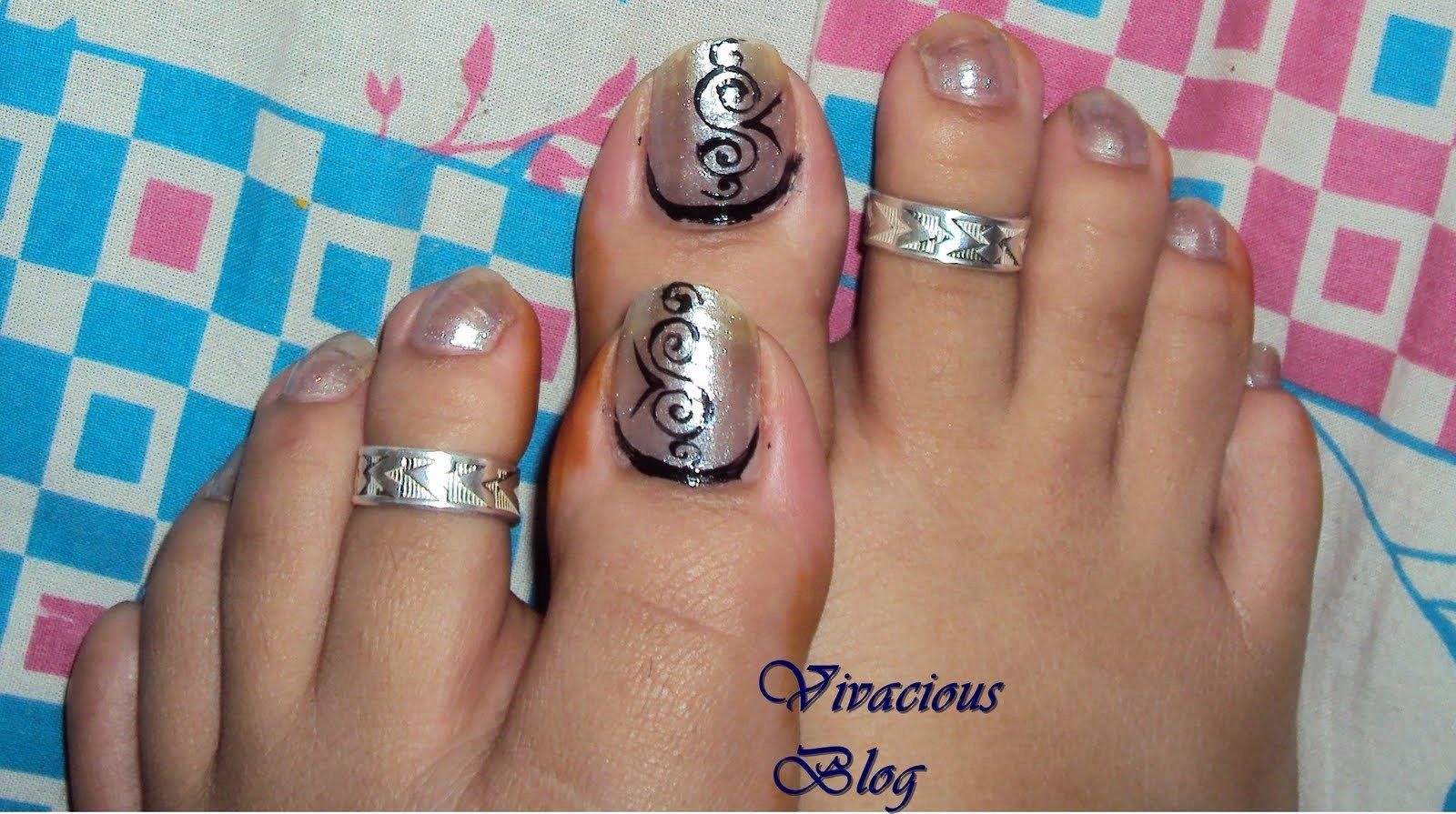 Nail Art Designs for toes Inspirational Vivacious Blog toe Nail Art