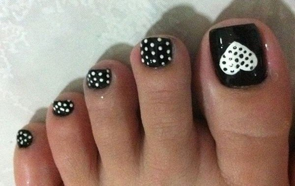 Nail Art Designs for toes Lovely 60 Cute & Pretty toe Nail Art Designs Noted List