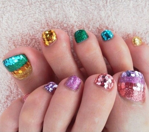 nail art for your beautiful feet