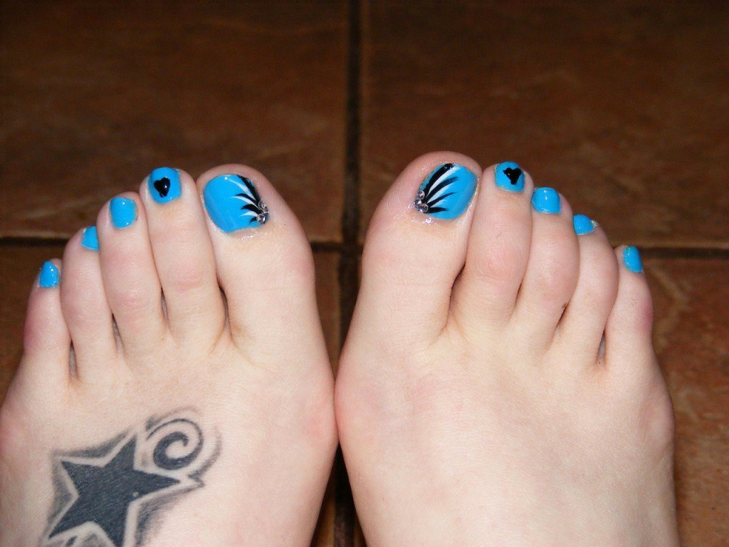 Nail Art Designs for toes Unique Simple Nail Art Designs for Beautiful Feet – Nailkart