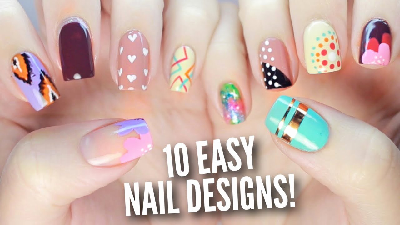 Nail Art Designs Videos Best Of 10 Easy Nail Art Designs for Beginners the Ultimate Guide