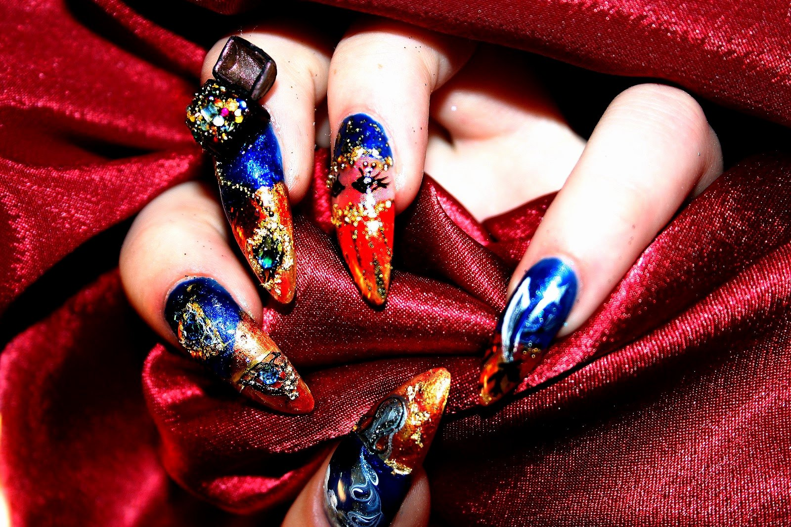 Nail Art Designs Videos Lovely Random Wallpapers Nail Art