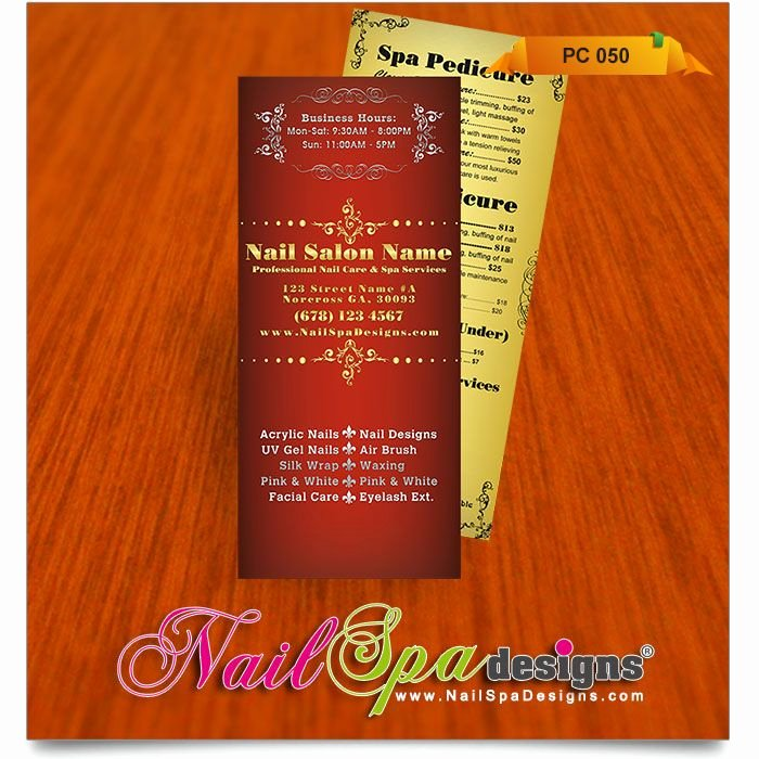 Nail Price List Template Elegant Price List Template for Nail Salon Visit