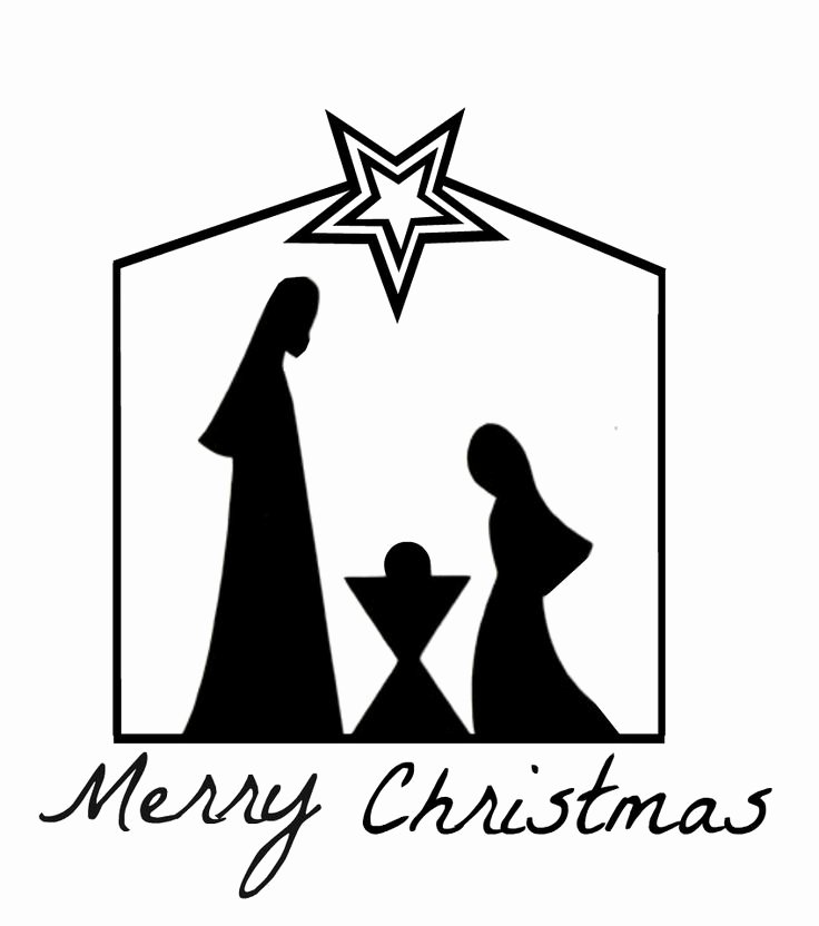 Nativity Scene Silhouette Printable Awesome Best 25 Nativity Silhouette Ideas On Pinterest