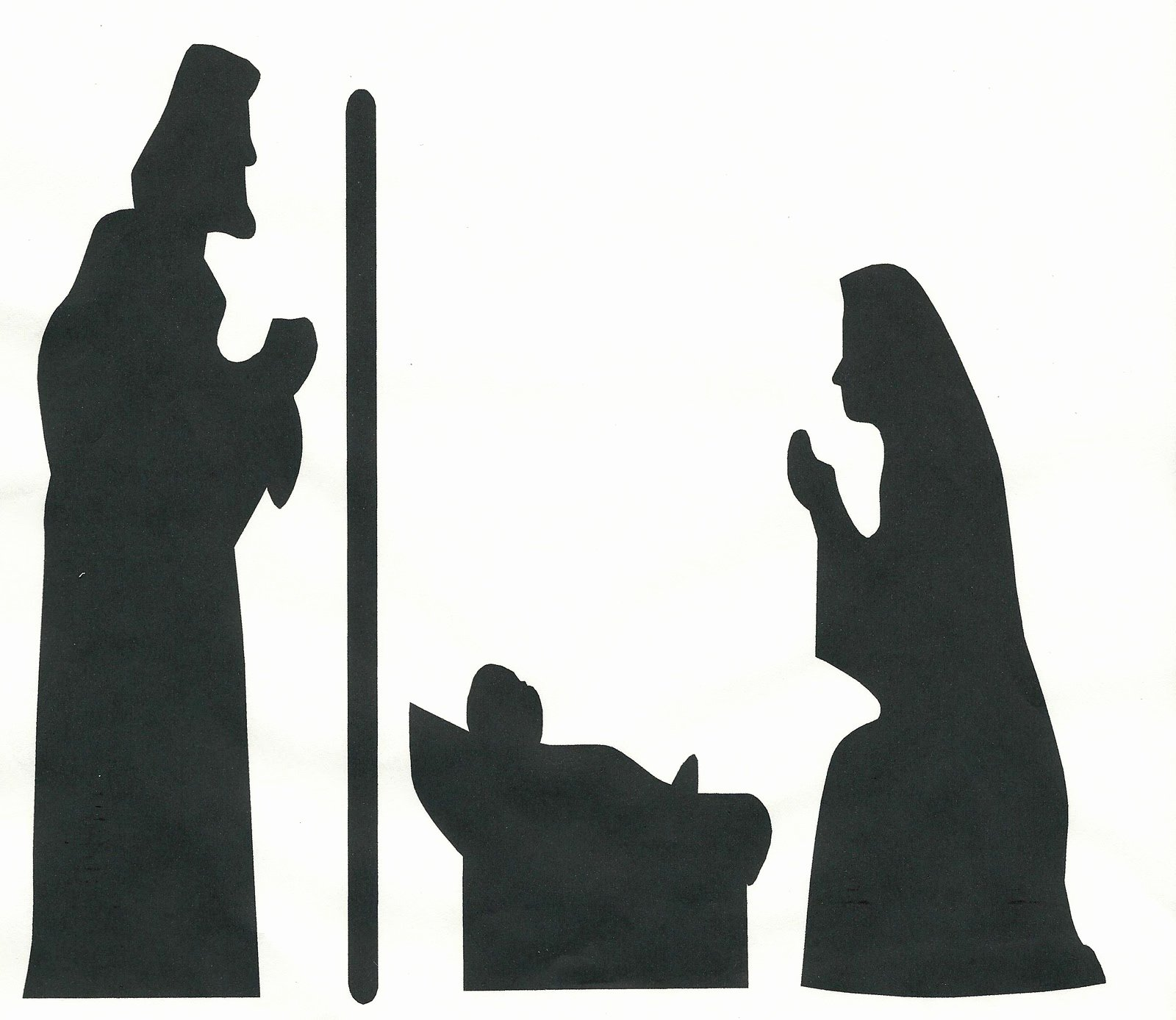 Nativity Scene Silhouette Printable Unique Whitehall Ward R S News November 2010