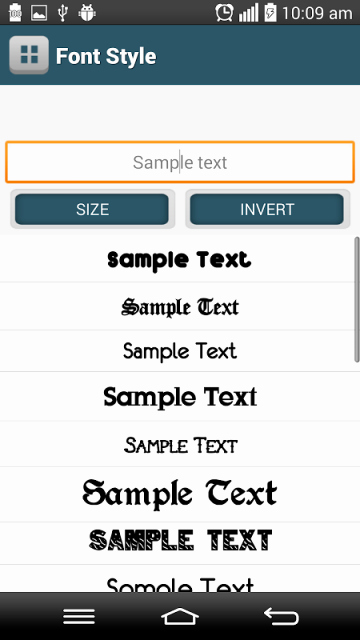 New Fonts for android Beautiful Notypedroidntntforevernewriptfontsfree