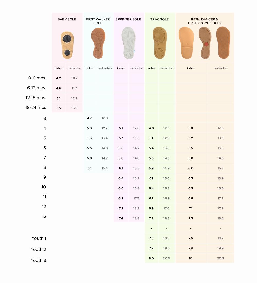 Newborn Shoes Size Chart Beautiful Kids Shoe Size Chart & Sizing Tips – Livie & Luca