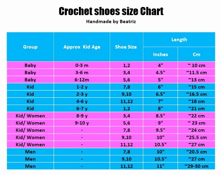 Newborn Shoes Size Chart Elegant 1000 Ideas About Shoe Size Chart On Pinterest