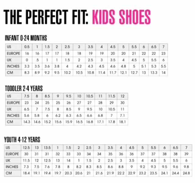 Newborn Shoes Size Chart Elegant Best 25 Shoe Size Chart Kids Ideas On Pinterest