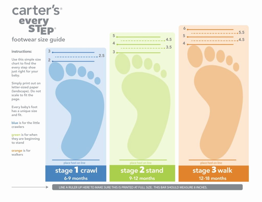 Newborn Shoes Size Chart Inspirational Baby Steps with Carter S Every Step Shoes