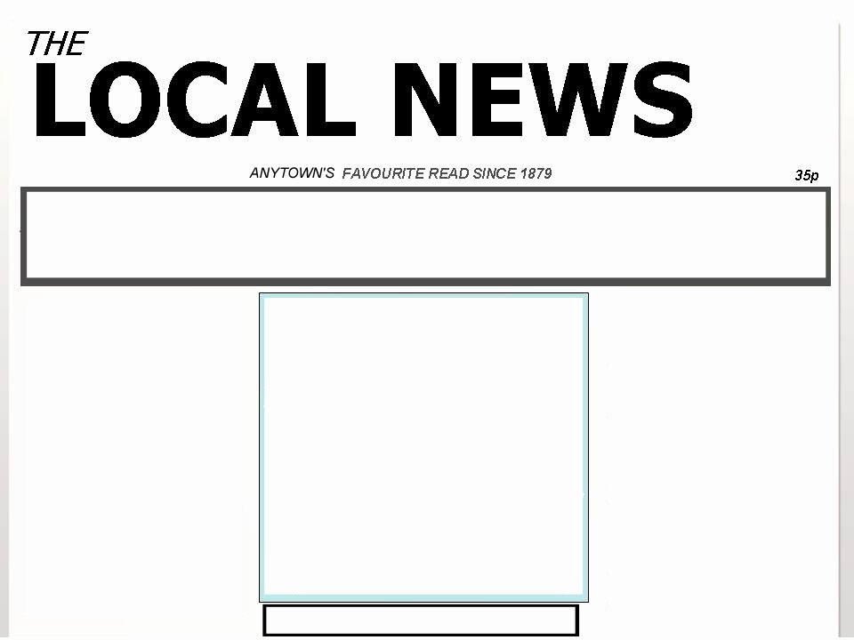 Newspaper Article Template for Students New Blank Newspaper Template