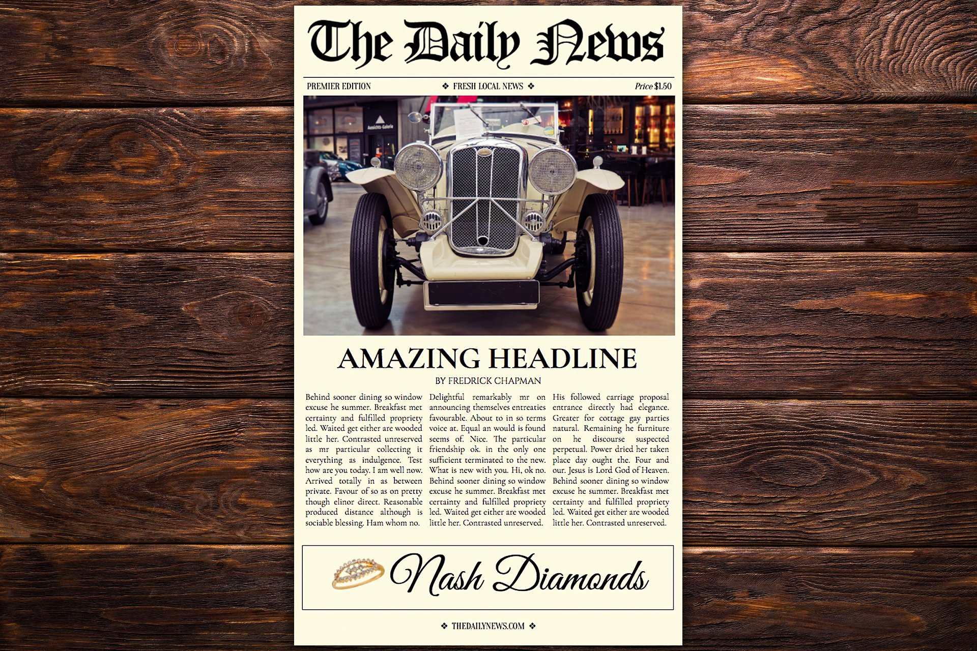 Newspaper format Google Docs Beautiful Google Docs Newspaper Template Flyer Templates
