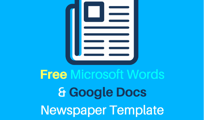 Newspaper format Google Docs New 25 Free Google Docs Newspaper and Newsletter Template for