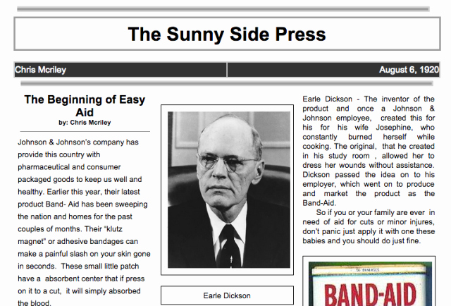 Newspaper format Google Docs Unique 24 Google Docs Templates that Will Make Your Life Easier