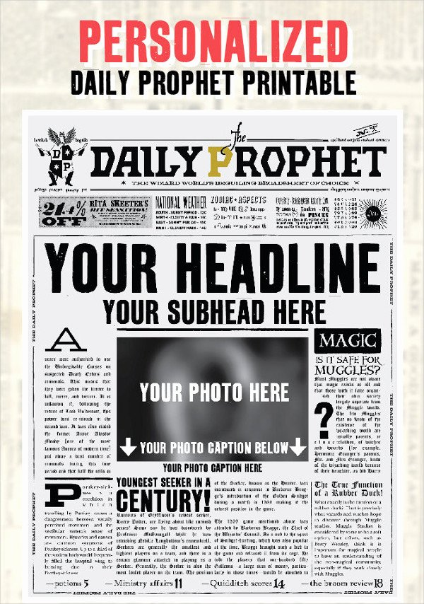 Newspaper Front Page Template Awesome Newspaper Template 16 Free Word Pdf Documents Download