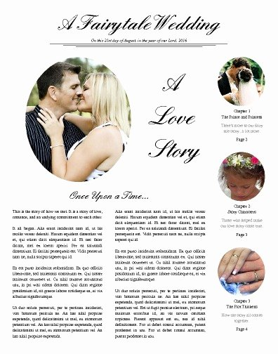 Newspaper Wedding Announcement Template Elegant Free Newspaper Templates Print and Digital