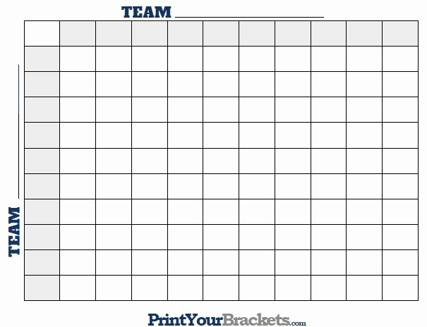 Nfl Football Pool Template Awesome Printable Nfl Football Square Grid Fice Pool