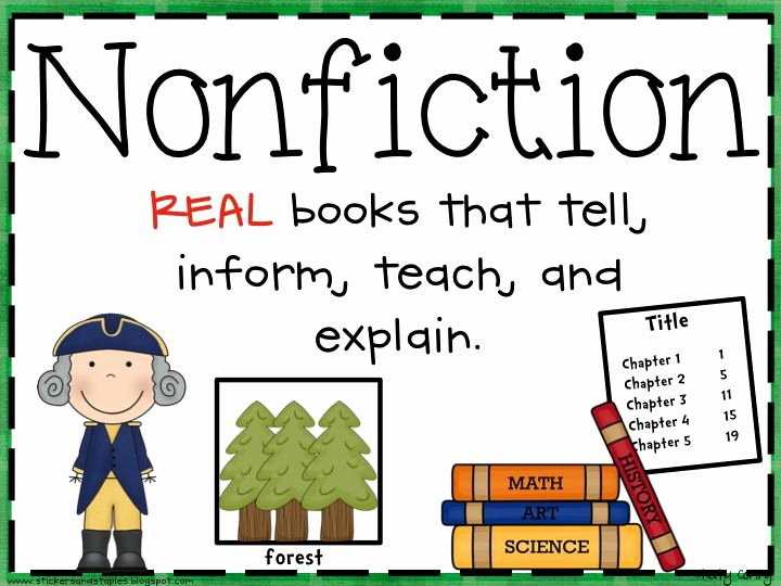 Non Fiction Book Outline Awesome 25 Best Ideas About Fiction Vs Nonfiction On Pinterest