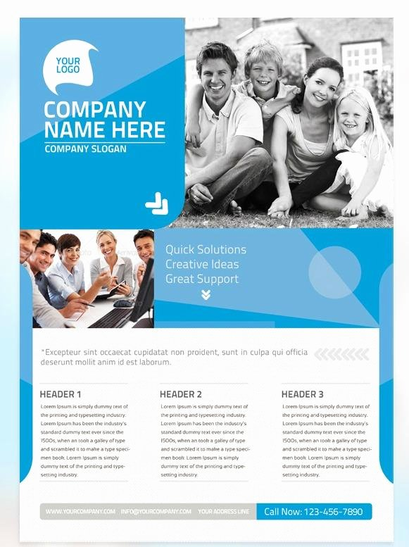 Non Profit Brochure Example Awesome 7 Free Flyer Templates for Non Profit organizations