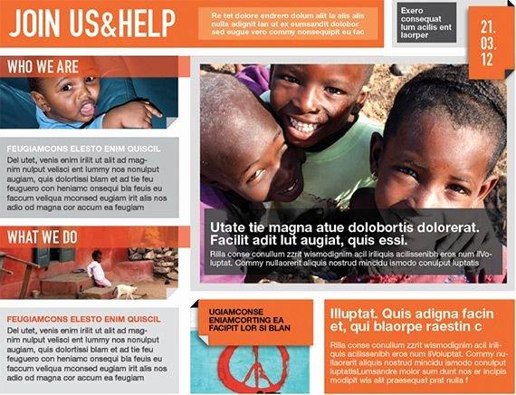 Non Profit Brochure Example Beautiful Indesigntemplate – Brochure Templates for Non Profit