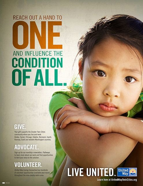 Non Profit Brochure Example Beautiful United Way Campaign Poster 2009
