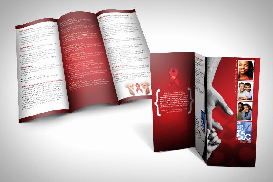 Non Profit Brochure Example Elegant Brochure Design In Pasadena California