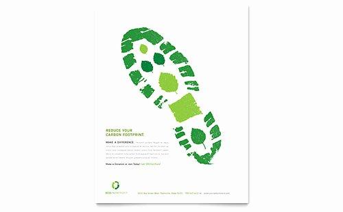 Non Profit Brochure Example Inspirational Environmental Non Profit Tri Fold Brochure Template Design
