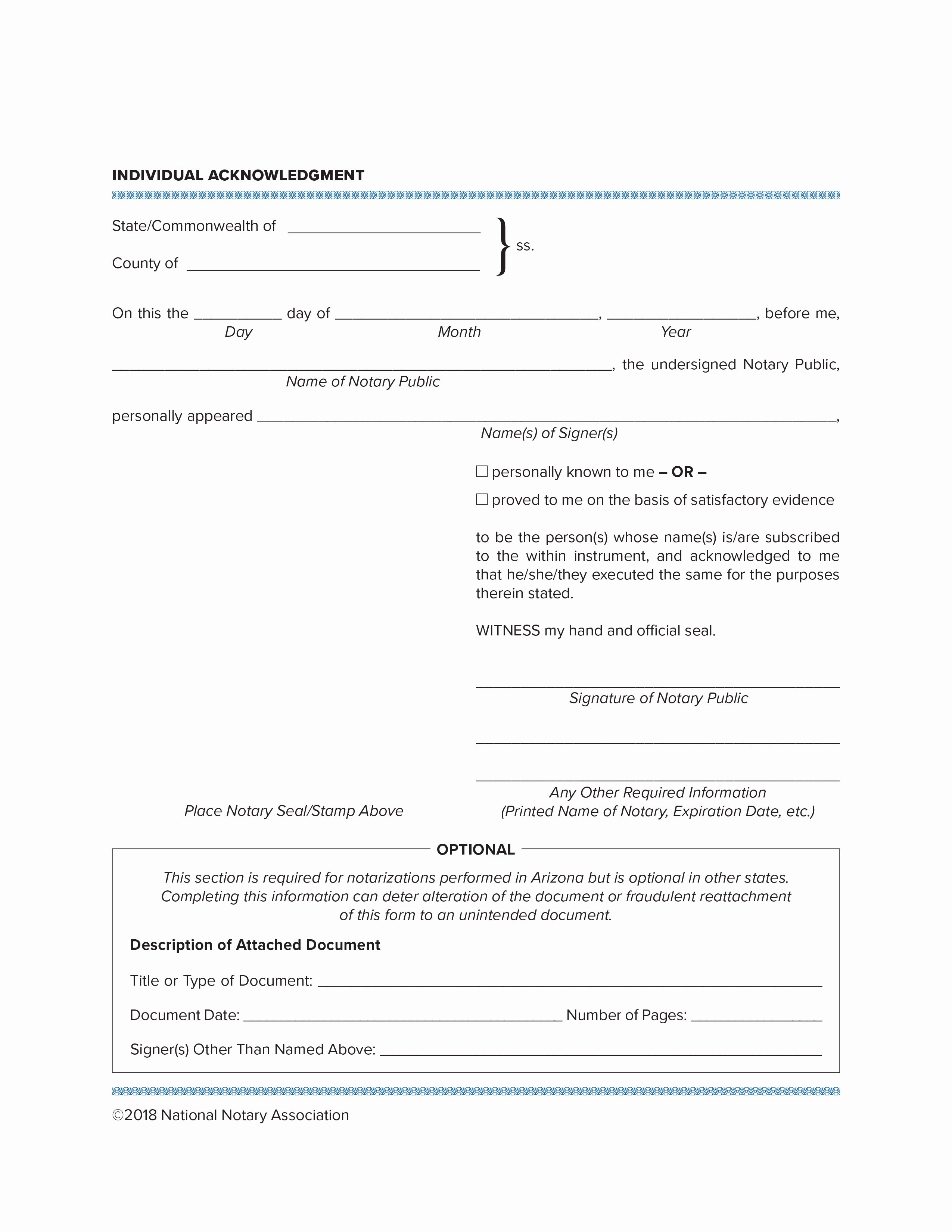 Notary Public Document Sample Best Of Notary Essentials the Difference Between Acknowledgments