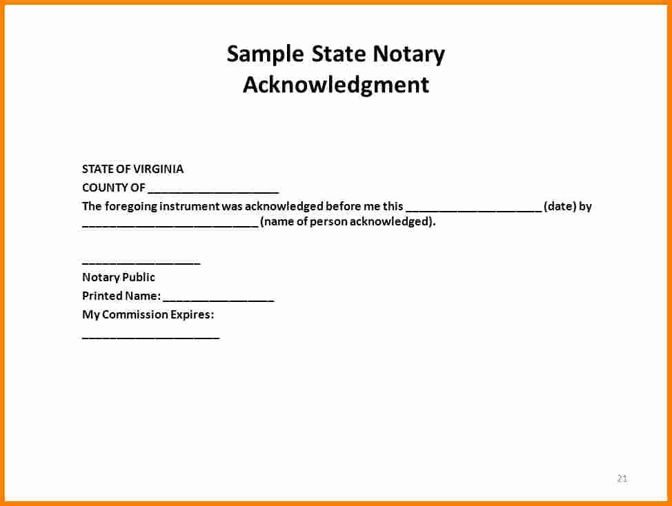 Notary Public Document Sample Luxury How to Notarize A Letter