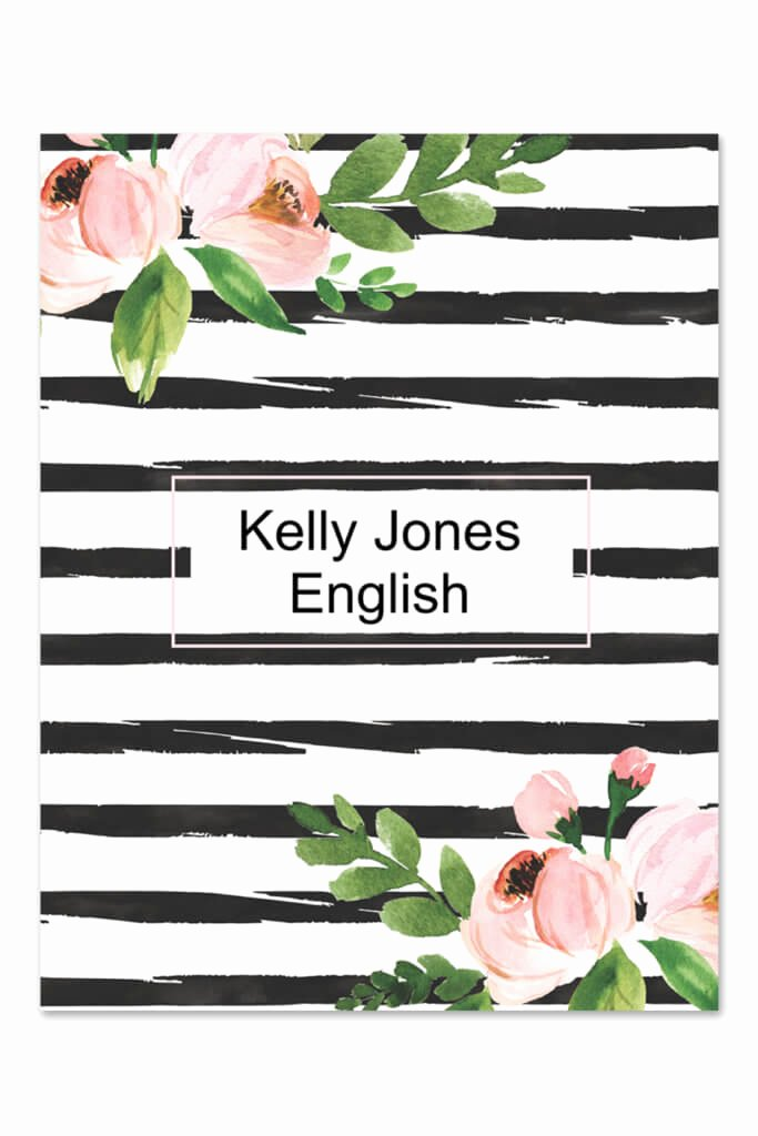 Notebook Cover Design Template Elegant Free Printables Download Over 700 Free Printable Files