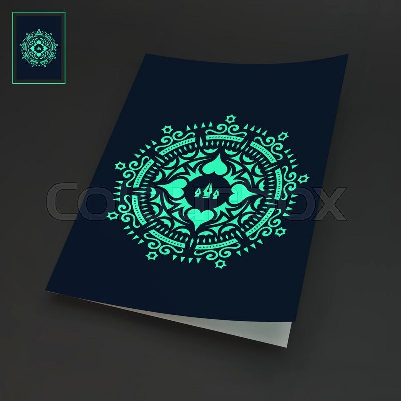 Notebook Cover Design Template Elegant Notebook Cover Template oriental