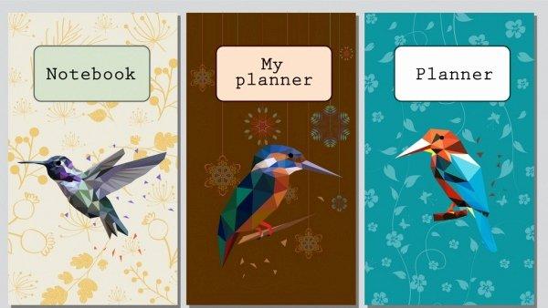 Notebook Cover Design Template Inspirational Book Cover Design Template Free Vector 22 130