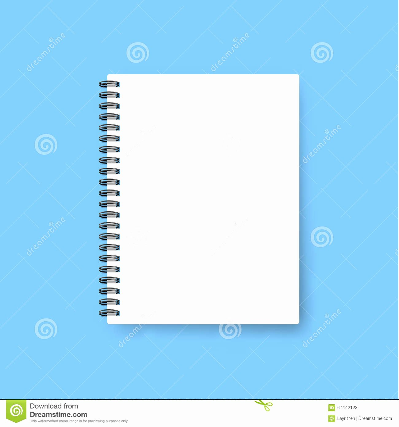 Notebook Cover Design Template Inspirational Realistic Notebook Template Blank Cover Design Mock Up
