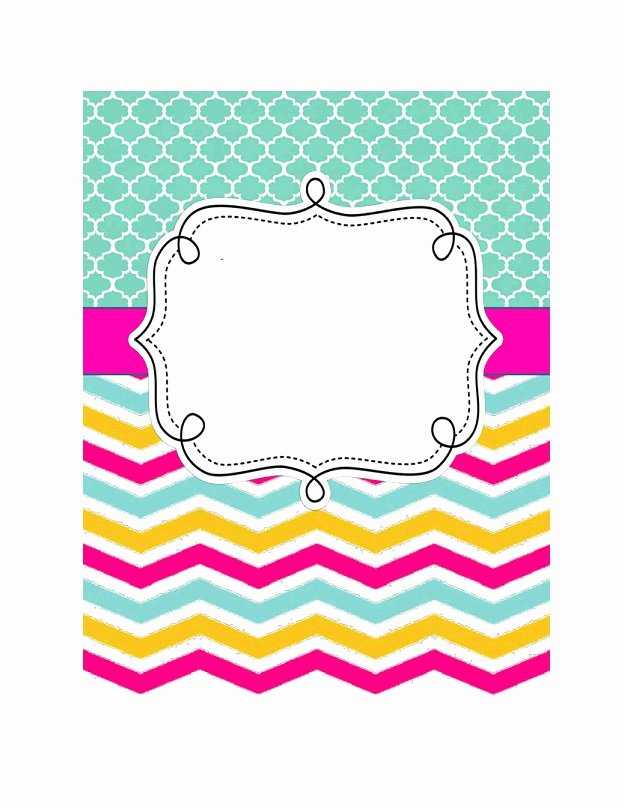 Notebook Cover Design Template Lovely 35 Beautifull Binder Cover Templates Template Lab