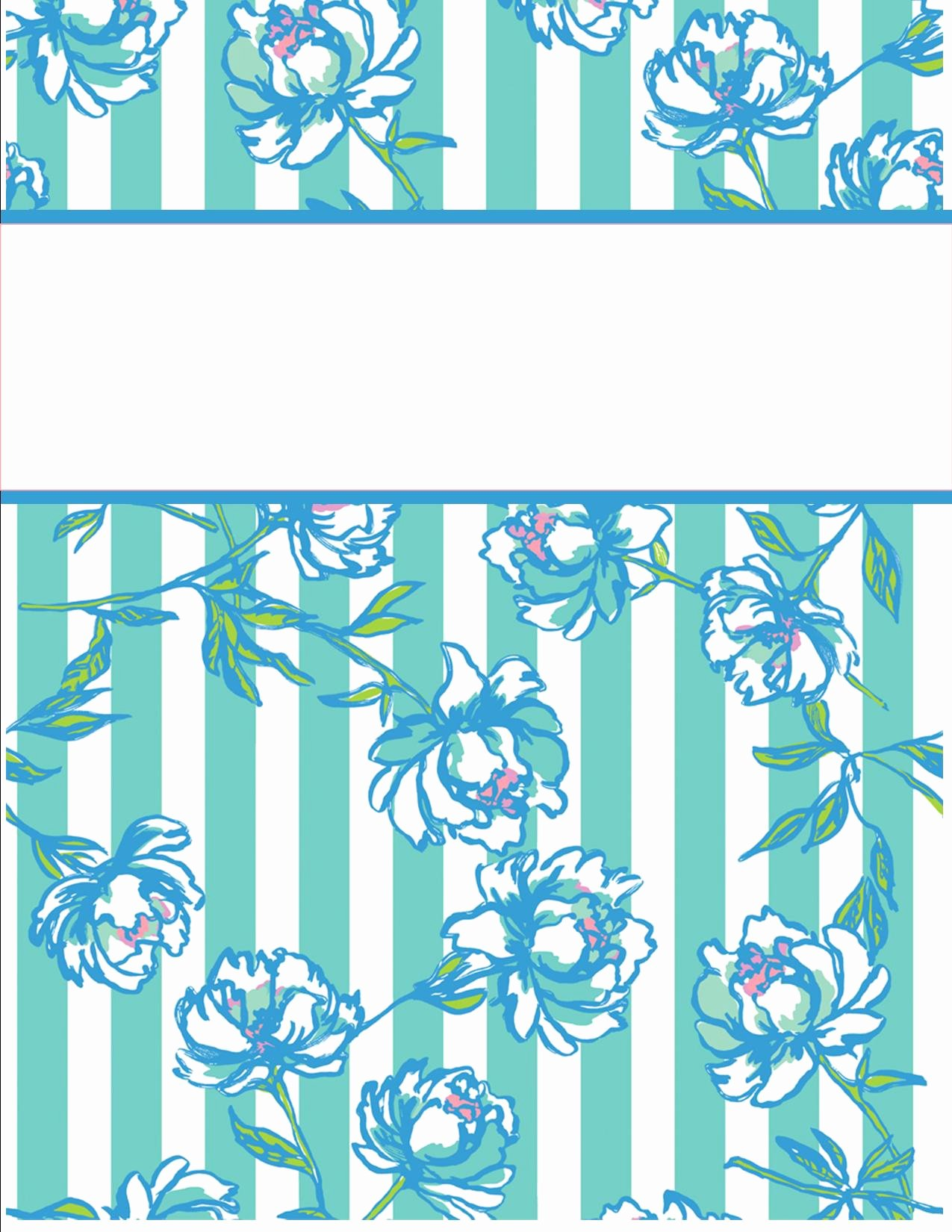 Notebook Cover Design Template Luxury My Cute Binder Covers