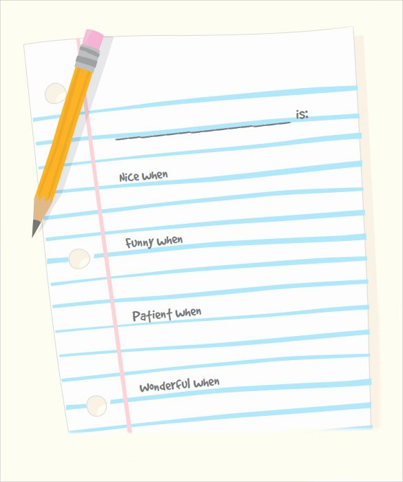 Notebook Template for Word Best Of Notebook Paper 9 Download Documents In Pdf