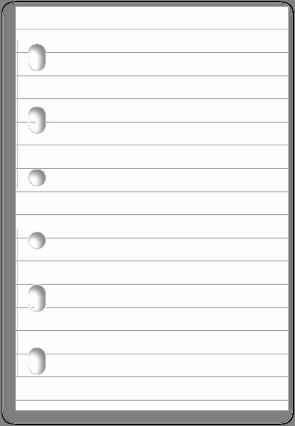 Notebook Template for Word Fresh Notebook Paper Template for Word Clipart Best