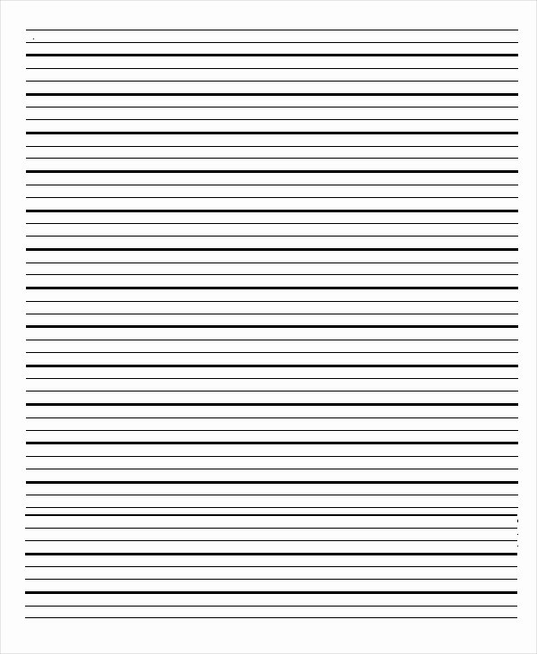 Notebook Template for Word Lovely Lined Paper Templates 6 Free Word Pdf Documents