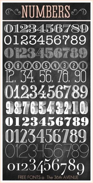 Number Fonts for Tattoos Beautiful 25 Best Ideas About Number Tattoo Fonts On Pinterest